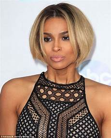 ciara debuts her new bob hairdo at the ama awards bob