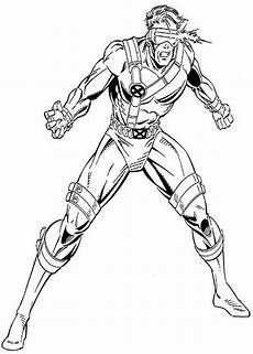 cyclops attack coloring page coloring