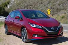 nissan leaf 2019 review the nissan leaf plus adds more ev range but not more