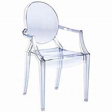 fauteuil louis ghost fauteuil louis ghost transparent bleu p starck