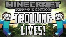 Malvorlagen Minecraft Xbox One Minecraft Xbox One Edition Trolling Lives