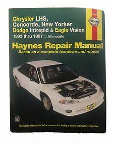free car repair manuals 1997 chrysler lhs windshield wipe control haynes repair manual 25025 chrysler lhs new yorker dodge intrepid 1993 1997 ebay