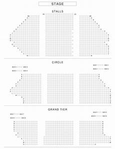 manchester opera house seating plan palace theatre manchester seat views www