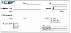 free receipt of payment templates word templates docs