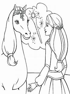 Malvorlage Prinzessin Und Pferd Coloring Pages For At Getcolorings Free