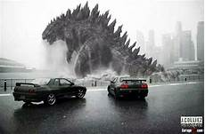 Godzilla Skyline Gtr Wallpaper
