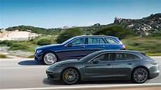 2017 Porsche Panamera Sport Turismo Vs 2017 Mercedes E