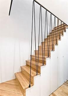 garde corps pour escalier un garde corps moderne en corde deco escalier escalier