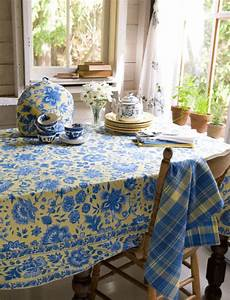 Kitchen Linens And Decor by Blue And Yellow April Cornell Dans Ma Cuisine Yellow