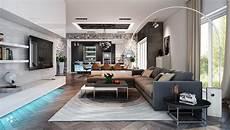 Home Decor Ideas Living Room Modern by Spacious Living Room Interior Design Ideas