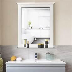 badezimmerspiegel mit ablage costway badezimmerspiegel mit ablage badspiegel real