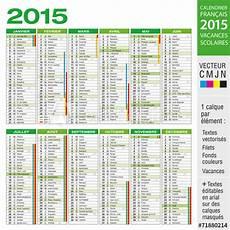 Quot Calendrier 2015 Avec Vacances Scolaires Quot Fichier