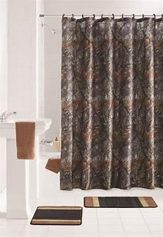 Bathroom Rugs Brown by Mainstays Brown Ozark Trial 15 Bathroom Set Shower