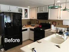 Kitchen Cabinet Refacing Doylestown Pa by Earth Smart Remodeling Inc Cabinet Refacing Before And