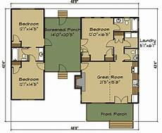 dogtrot house floor plan 3 bed dog trot house plan with sleeping loft 92377mx