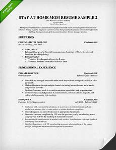 stay at home mom resume some experience 2015 resume writing exles resume resume exles