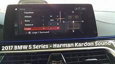 2017 bmw 5 series harman kardon surround sound system