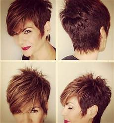 short spiky pixie haircut with long bangs 26 super cool hairstyles for short hair pretty designs