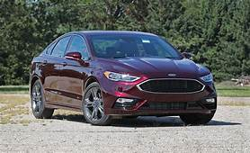 2017 Ford Fusion Sport With Summer Tires Tested  Review