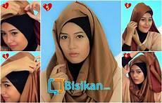Tutorial Pashmina Warna Hitam Gallery Islami Terbaru
