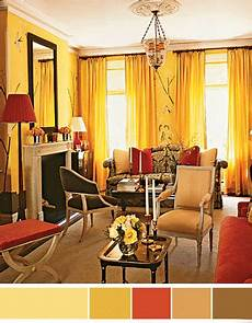 Home Decor Ideas Color Schemes by Interior Color Schemes Yellow Green Decorating