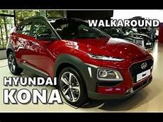 2018 Hyundai Kona Walkaround Exterior Interior Specs