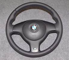 bmw e46 e39 m sport steering wheel retrimmed in selby