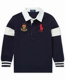 nwt polo ralph toddler boys big pony cotton rugby