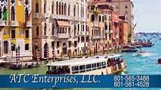 atc enterprises book your cruise flight hotel vacation package ut youtube