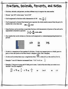 fun in fifth fractions decimals percents and ratios
