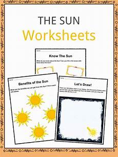 facts about the sun worksheet the sun facts worksheets key information for
