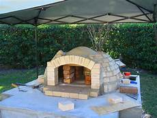 brick bbq and pizza oven plans pit design ideas