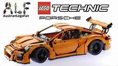 lego porsche gt3 lego technic 42056 porsche 911 gt3 rs lego speed build