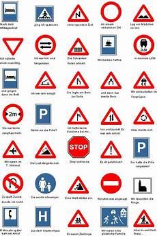 Verkehrszeichen Und Ihre Bedeutung - pin auf slapstick