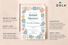 wording your bridal shower invitations how to word bridal shower invitations zola expert