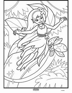 woodland fairies coloring pages 16582 color alive enchanted forest coloring page crayola