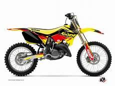 stage 125 prix kit d 233 co moto cross stage suzuki 125 rm jaune kutvek kit graphik