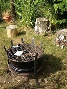 Grill Selber Bauen Einfach - einen einfachen grill selber bauen aus autofelge