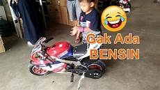 gambar montor minti 2017 lucu anak kecil gak bisa nyalain motor mini gp 2016
