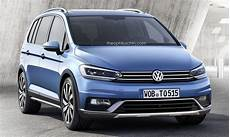 Third Generation Volkswagen Cross Touran Rendered