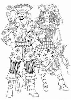 carnival pirate costumes coloring page in 2020