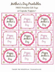 s day printable gifts 20552 s day free printable gift tags or cupcake toppers feliz d 237 a de la madre d 237 a de la