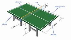 table tennis ping pong table signs and features free