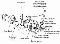 1957 chevy ignition switch diagram wiring