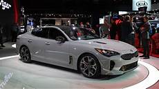 kia stinger 2017 2018 kia stinger gt at the 2017 naias detroit auto show