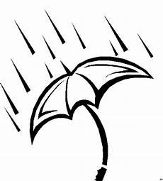 Gratis Malvorlagen Regenschirm Regenschirm Dicker Rand Ausmalbild Malvorlage Jahreszeiten