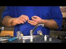 how to replace kitchen faucet handle how do i replace the stem in my handle faucet part 3