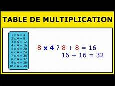 la table de multiplication table de multiplication apprends 224 multiplier facilement