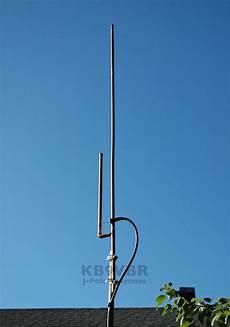details about premium kb9vbr j pole base antenna 2 meter dual band ham radio scanner