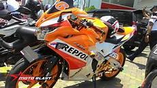 Modifikasi Spakbor Belakang Cbr150r by Modif Honda Cbr150r Thailand Repsol Livery Dari Bali